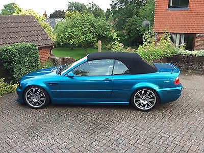 bmw e46 m3 individual convertible low miles atlantis blue. Black Bedroom Furniture Sets. Home Design Ideas